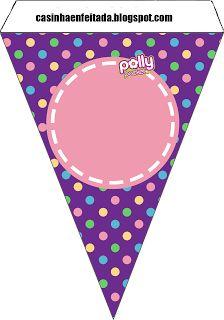 Kit Festa Polly Pocket Para Imprimir Grátis Polly Pocket, Free Printable Banner, Printable Box, Girl Birthday, Birthday Parties, Themed Parties, Party Printables, Free Printables, Bolo Barbie