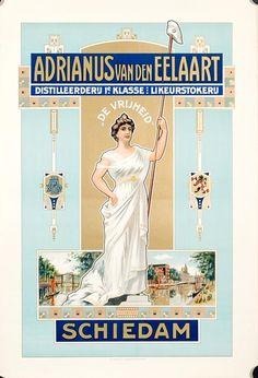 Reclame: Adrianus van den Eelaart - ca. 1905/1915
