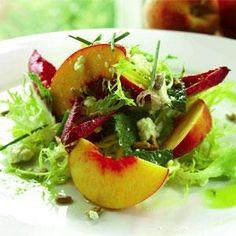 The Farmhouse Peach Salad