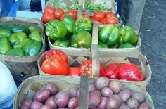 Check out the Farmers Market when you're in Bluffton, South Carolina.