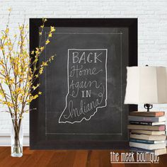 INSTANT DOWNLOAD Back Home Again in Indiana by TheMeekBoutique