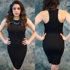 Luxe Black Dress