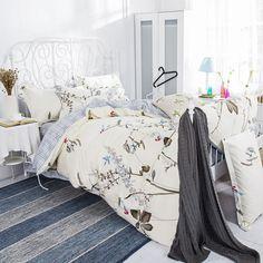 Tree print Duvet cover bedsheet pillowcase 100 Cotton Twin/single full/double queen king set Bedlinen bedding Jogo de cama