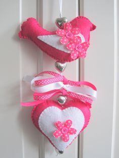 deurhanger roze http://www.kids-ware.nl/a-26024791/deurhangers/deurhanger-fuchsia-wit/