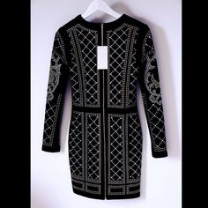 Balmain x H&M Inspired Studded Dress Own the seasons most sought after dress, for a fraction of the price! Brand new & never worn, with tags! Ready to be shipped & added to your closet! Dress will fit a M-L Balmain Dresses