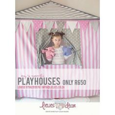 Lielies Playhouse - Tent Play Houses, Little Ones, Beach Mat, Tent, Outdoor Blanket, Frame, Handmade, Home Decor, Picture Frame
