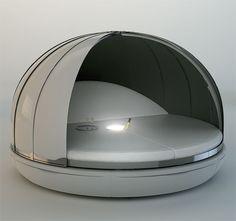 Futuristic Day Bed by Fanstudio