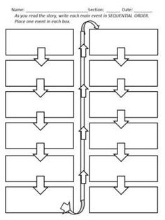 FREE - Graphic Organizer: Cause and Effect (Sequence) - This would be great for teaching the road to the American Revolution.