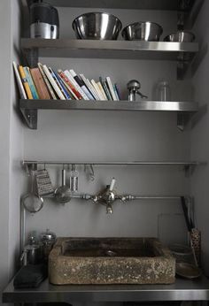 NOT this one, but if we are redoing the kitchen bath, let's put in an original looking, unusual sink and faucet.  Nothing crazy.  Galvanized bucket as a sink?  New old faucet set?