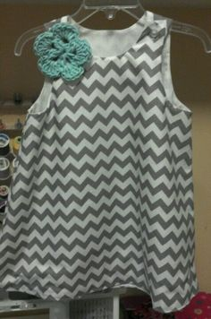 Chevron toddler dress!
