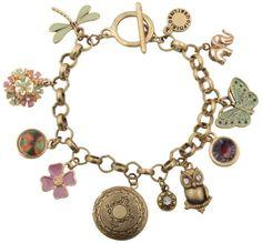 Bracelet - Golden owl - Bijou Brigitte Online Shop NL