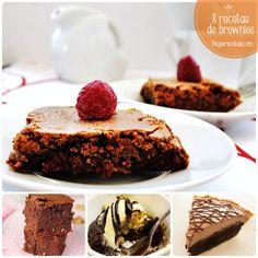 Brownies, 8 recetas fáciles y ricas , Brownies, 8 recetas fáciles y ricas. Os enseñamos a preparar brownies para todos los gustos: brownies con nueces, magdalenas de brownie, brownies para celíacos...