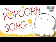 The Popcorn Song – A Fun Animated Video and Song for Children - Zirkus Kindergarten Kindergarten Songs, Preschool Songs, Preschool Transition Songs, Preschool Plans, Fun Songs, Kids Songs, Silly Songs For Kids, Music Classroom, Popcorn Theme Classroom