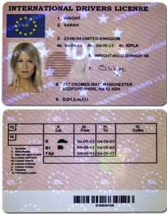 Two Texas Fake Drivers Licenses Cards Download The Id Template Fun