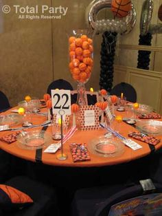 Marvelous Basketball Banquet Centerpieces | Sports Banquet | Pinterest | Image  Search, Banquet Centerpieces And Baseball