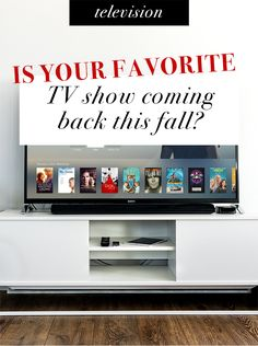 Is your favorite TV show coming back this fall? Chicago Med, Chicago Fire, Favorite Tv Shows, Your Favorite, Big Bang Theory Series, Life In Pieces, Fresh Off The Boat, The Goldbergs, Crazy Ex Girlfriends