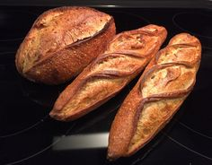 Hamelman Potato Bread (as Levain baguettes, of course) | The Fresh Loaf