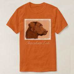 #Labrador Retriever (Chocolate) T-Shirt - #labrador #retriever #puppy #labradors #dog #dogs #pet #pets