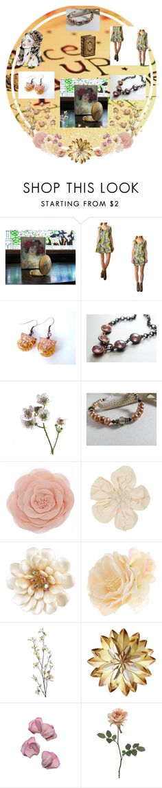 """""""Once Upon A Time"""" by jarmgirl ❤ liked on Polyvore featuring Lanvin, Carolee, Accessorize, Pier 1 Imports, Sweet Pea by Stacy Frati and vintage"""