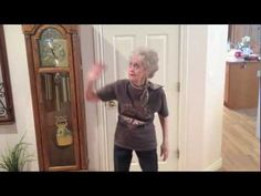"""From the video description: """"My name is Adam Forgie. I live with, and take care of my grandmother. She is legally blind (severe macular degeneration) and like many people her age, also very hard of hearing. One of the few things that makes her happy is dancing!"""""""