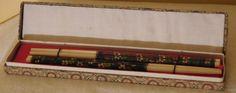 Vintage Chopsticks Cloisonné Set of Two by VintageToThrill on Etsy https://www.etsy.com/listing/477168312/vintage-chopsticks-cloisonne-set-of-two