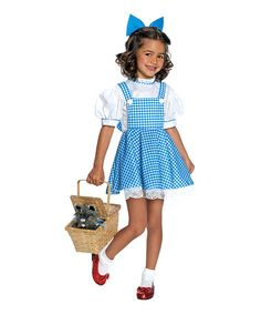 Another great find on #zulily! Deluxe Darling Dorothy Dress-Up Outfit - Kids #zulilyfinds