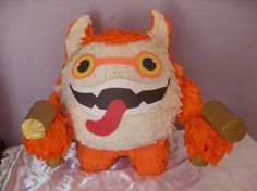 Skylanders GiantsTrigger Happy Piñata on Etsy, $39.99