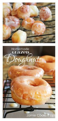 Homemade Doughnuts Jamie Cooks It Up! You will never want to buy doughnuts again after you make this homemade version. These will blow your socks right off.