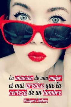 La intuición de una mujer...