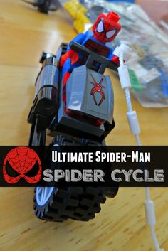 Our #Lego Ultimate Spider-Man Spider Cycle Playset Review