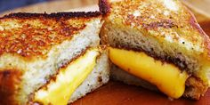 The best cheese for grilled cheese sandwiches. Perfect Grilled Cheese, Making Grilled Cheese, Best Cheese, Cheese Dishes, Cheese Recipes, Food Combining, Love Food, Breakfast Recipes, Protein