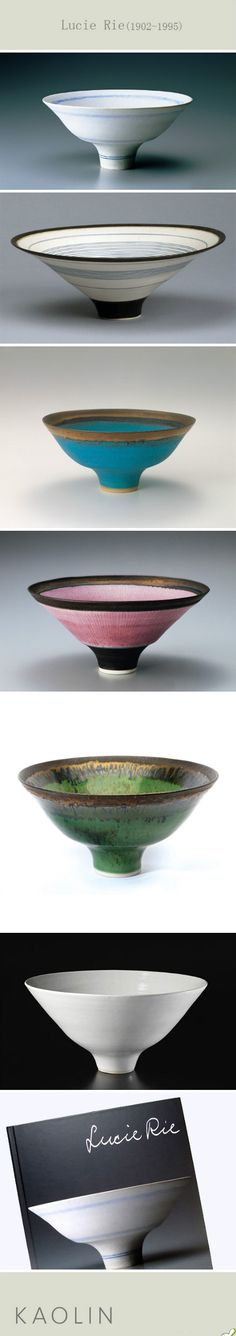 Lucie Rie. I think that I've actually got one of her  pieces.