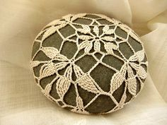 Crocheted Beach Stone Flora, $ 20, by Camille Marie via Etsy.