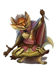 Redwall Races - Fox by chichapie.deviantart.com