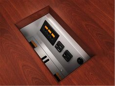 Clue #15 Down! This product is an under table unit provides access to 2 power receptacles and the ability to access a configurable Telecom plate, which is purchased separately. The unit is supplied with a 6 foot molded power cord with 15 Amp plug.