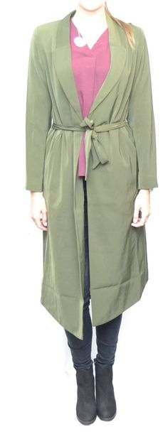 27630f74 Dry Lake Stockholm Army Coat Army Green • Mojo Independent Store • Tictail