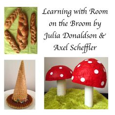 As well as witch & animal crafts lots of other learning activities can be inspired by Room on the Broom. We've been experimenting, painting & baking. Science Activities, Educational Activities, Julia Donaldson Books, Axel Scheffler, Room On The Broom, Witch Pictures, Animal Crafts, Picture Books, Witches