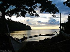 Traveling Morion | Let's explore 7107 Islands: PostCard Series| Twilight in Odiongan Wharf