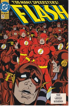 Flash 74 March 1993 Issue DC Comics Grade NM by ViewObscura