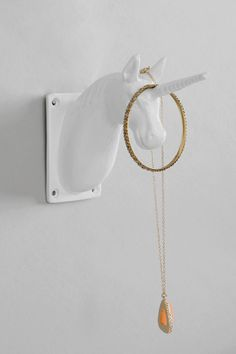 Unicorn Hook-for kids room, check urban outfitters to see if this goes on sale Unicorn Bedroom, Unicorn Wall, Real Unicorn, Unicorn Horse, Big Girl Rooms, White Elephant Gifts, My New Room, Girls Bedroom, Bedroom Ideas