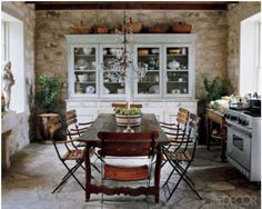 I want a rock wall in our kitchen!