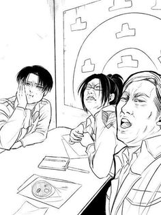 Shingeki no Kyojin┋Атака Титанов┋Attack on Titan Tengo miedo:'v Attack On Titan Comic, Attack On Titan Fanart, Attack On Titan Ships, Aot Memes, Hxh Characters, Ereri, Levihan, Funny Anime Pics, Animes Wallpapers