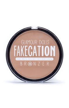 They say bigger is better and we have to agree. Our XXL bronzer is 100% matte and guaranteed to bring you from bland to tanned. Doll Diary, We go big for a reason! Bronzer is not to be applied like bl