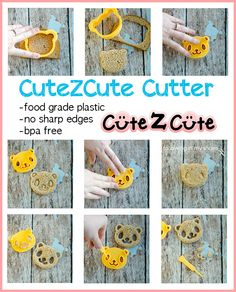 CuteZCute Cutter for Lunches that POP
