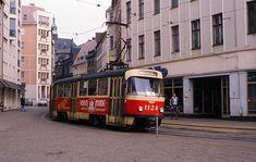 Schmeerstrasse, Halle, DDR 1990
