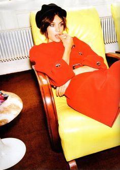 Alexa Chung in Harper's Bazaar UK