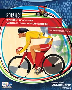 2012 Track Worlds Poster