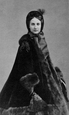 La emperatriz Carlota de México, nacida princesa Carlota de Bélgica(1840-1927).