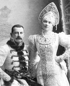 Princess Zinaida Yusupova & Prince Felix Yusupov of Russia by M. Veen, via Flickr