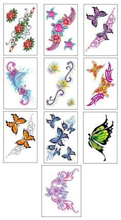 Cool   	Girls Club Temporary Tattoos @ Gumball.com   pic